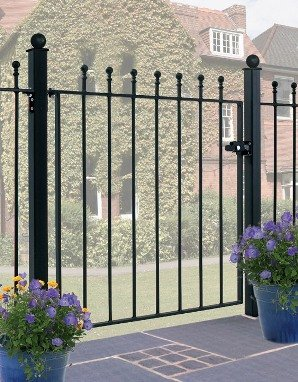 Manor Ball Top Gates, Fence Panels and Railings