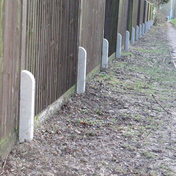 Concrete Repair Spur Stub Post Godfather Post Weavo