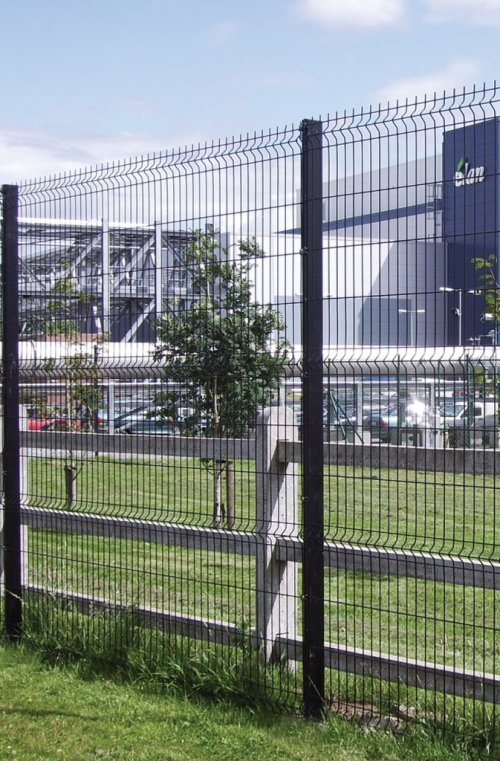 Steel Mesh Fence Systems