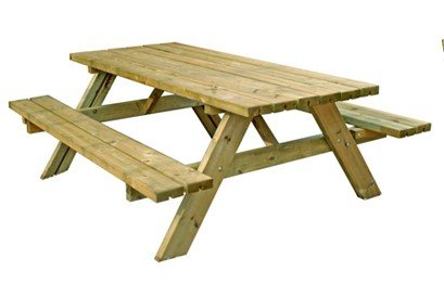 6 seat picnic table
