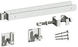 Galvanised Hanging Set on Plates with Adjustable Bottom Fitting