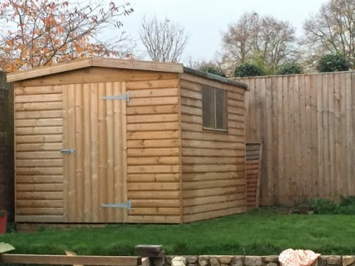 Contractor Shed