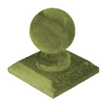 Ball Finial and Base Cap