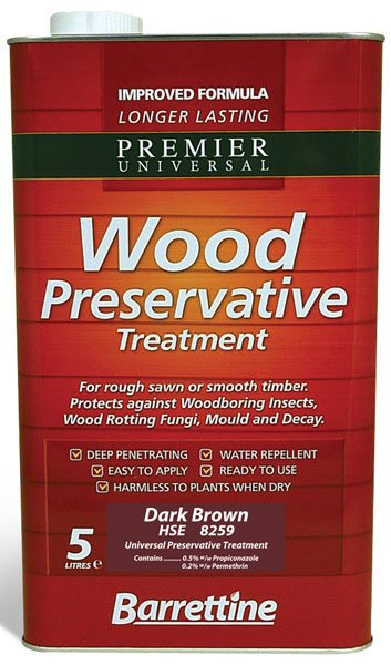 Barrettine Wood Preservative 5l